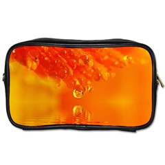 Waterdrops Travel Toiletry Bag (one Side) by Siebenhuehner