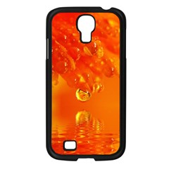 Waterdrops Samsung Galaxy S4 I9500/ I9505 Case (black) by Siebenhuehner