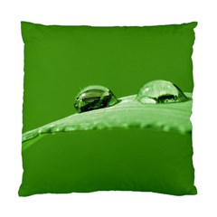 Waterdrops Cushion Case (single Sided)  by Siebenhuehner