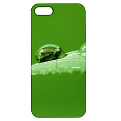 Waterdrops Apple Iphone 5 Hardshell Case With Stand by Siebenhuehner