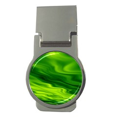 Green Money Clip (round) by Siebenhuehner
