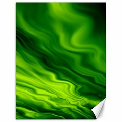 Green Canvas 12  X 16  (unframed) by Siebenhuehner