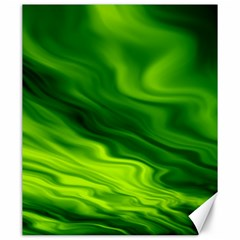 Green Canvas 20  X 24  (unframed) by Siebenhuehner