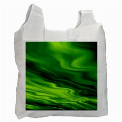 Green Recycle Bag (two Sides) by Siebenhuehner