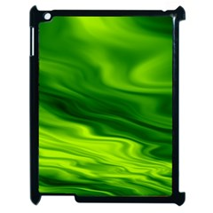 Green Apple Ipad 2 Case (black) by Siebenhuehner