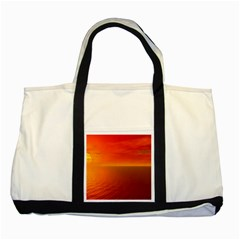 Sunset Two Toned Tote Bag by Siebenhuehner