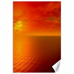 Sunset Canvas 24  X 36  (unframed) by Siebenhuehner