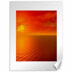 Sunset Canvas 36  X 48  (unframed) by Siebenhuehner