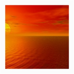 Sunset Glasses Cloth (medium, Two Sided) by Siebenhuehner