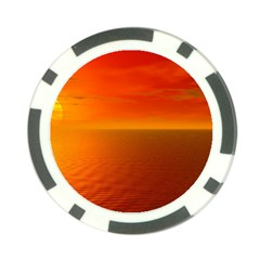 Sunset Poker Chip by Siebenhuehner