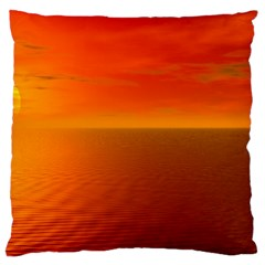 Sunset Large Cushion Case (two Sided)  by Siebenhuehner