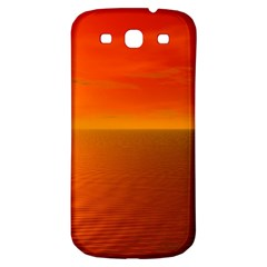 Sunset Samsung Galaxy S3 S Iii Classic Hardshell Back Case by Siebenhuehner