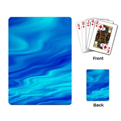 Blue Playing Cards Single Design by Siebenhuehner