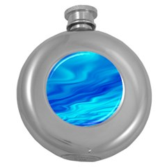 Blue Hip Flask (round) by Siebenhuehner