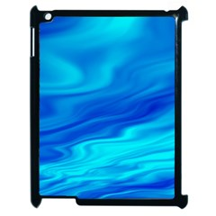 Blue Apple Ipad 2 Case (black) by Siebenhuehner