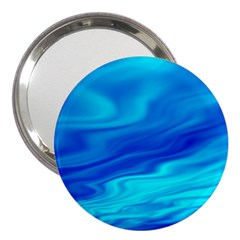 Blue 3  Handbag Mirror by Siebenhuehner