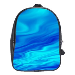 Blue School Bag (xl) by Siebenhuehner
