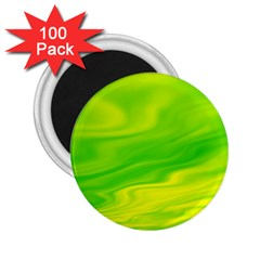 Green 2 25  Button Magnet (100 Pack) by Siebenhuehner