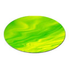 Green Magnet (oval) by Siebenhuehner