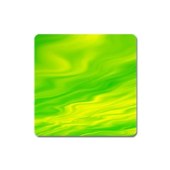Green Magnet (square) by Siebenhuehner