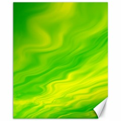 Green Canvas 11  X 14  (unframed) by Siebenhuehner