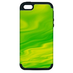 Green Apple Iphone 5 Hardshell Case (pc+silicone) by Siebenhuehner