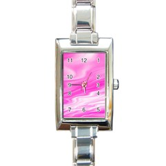 Background Rectangular Italian Charm Watch by Siebenhuehner