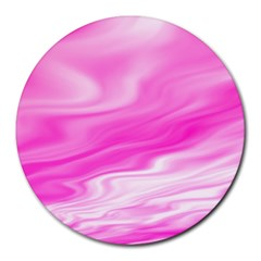 Background 8  Mouse Pad (round) by Siebenhuehner