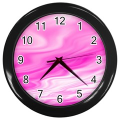 Background Wall Clock (black) by Siebenhuehner