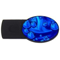 Modern  2gb Usb Flash Drive (oval) by Siebenhuehner