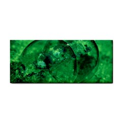 Green Bubbles Hand Towel by Siebenhuehner