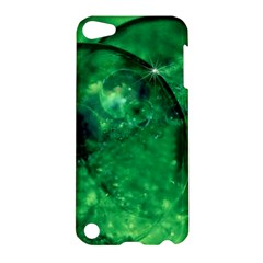 Green Bubbles Apple Ipod Touch 5 Hardshell Case by Siebenhuehner