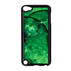 Green Bubbles Apple Ipod Touch 5 Case (black) by Siebenhuehner
