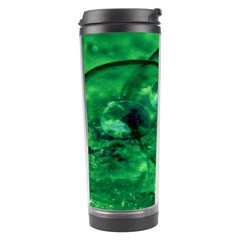 Green Bubbles Travel Tumbler by Siebenhuehner