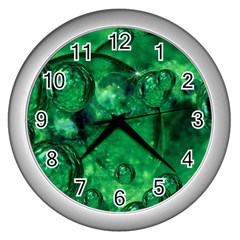 Illusion Wall Clock (silver) by Siebenhuehner