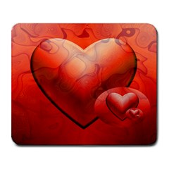 Love Large Mouse Pad (rectangle) by Siebenhuehner