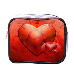 Love Mini Travel Toiletry Bag (one Side) by Siebenhuehner