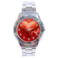 Love Stainless Steel Watch (men s) by Siebenhuehner