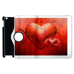 Love Apple Ipad 2 Flip 360 Case by Siebenhuehner