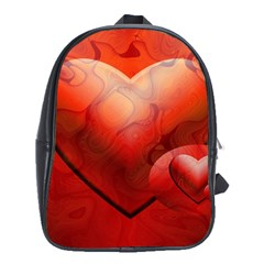 Love School Bag (xl) by Siebenhuehner