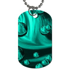 Space Dog Tag (one Sided) by Siebenhuehner