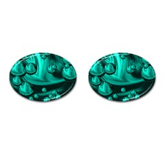 Space Cufflinks (oval) by Siebenhuehner