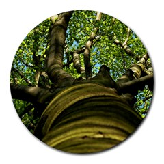 Tree 8  Mouse Pad (round) by Siebenhuehner