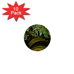 Tree 1  Mini Button (10 Pack) by Siebenhuehner