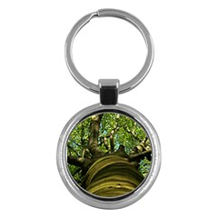 Tree Key Chain (round) by Siebenhuehner
