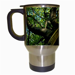 Tree Travel Mug (white) by Siebenhuehner