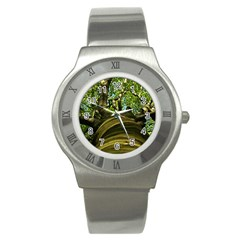 Tree Stainless Steel Watch (unisex)