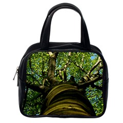 Tree Classic Handbag (one Side) by Siebenhuehner