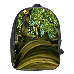 Tree School Bag (large) by Siebenhuehner