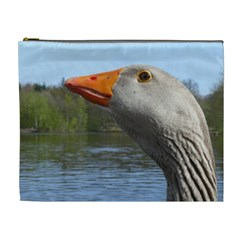 Geese Cosmetic Bag (xl) by Siebenhuehner